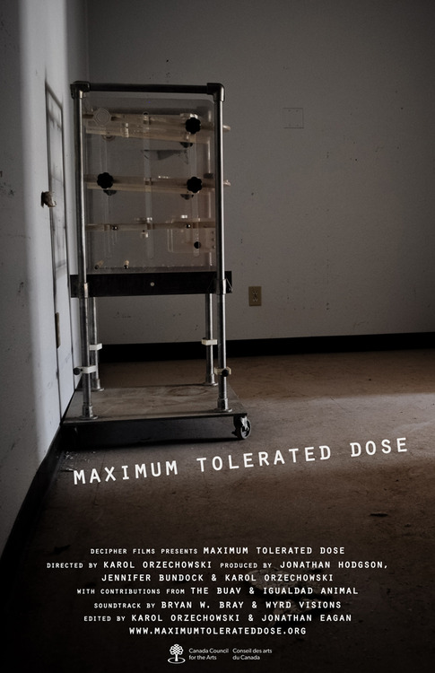 max tolerated dose poster